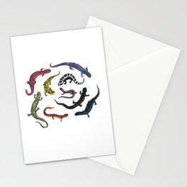 Northeastern Salamanders Stationery Cards