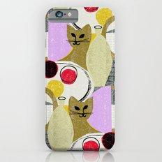 Still Life with Cat iPhone 6s Slim Case