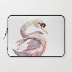 Swan Floating Away Laptop Sleeve