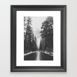 ON THE ROAD XIX / Yosemite Framed Art Print