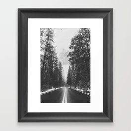 ROAD TRIP IV / Yosemite, California Framed Art Print