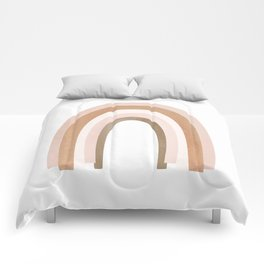 One happy little rainbow Comforters