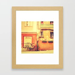 Chocolaterie I Travel Photography Framed Art Print