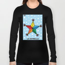 Christmas Loteria La Estrella Long Sleeve T-shirt