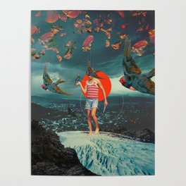 The Boy and the Birds Poster