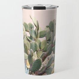 Vintage Desert Cactus Garden Travel Mug
