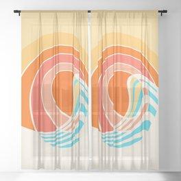 Sun Surf Sheer Curtain