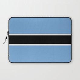 Flag: Botswana Laptop Sleeve
