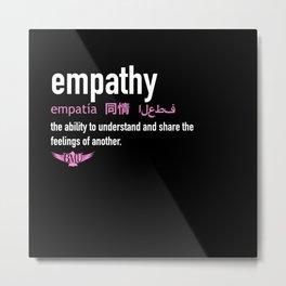 empathy Metal Print