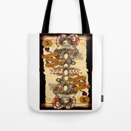 'Cheshire' (Alice in Wonderland Steampunk Series) Tote Bag