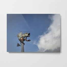 Sky Fish Metal Print