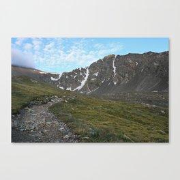 The Path To Grays & Torreys Peak Canvas Print