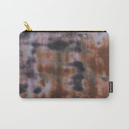 Copper and Iron abstract pattern Carry-All Pouch