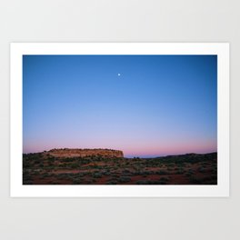 Moab Sunset Art Print