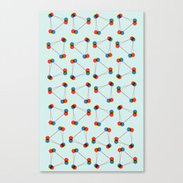 connect. Canvas Print