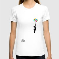 balloons T-shirts featuring balloons by mark ashkenazi