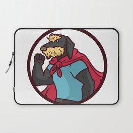 superhero dog Laptop Sleeve
