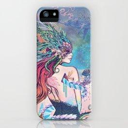 The Last Mermaid iPhone Case