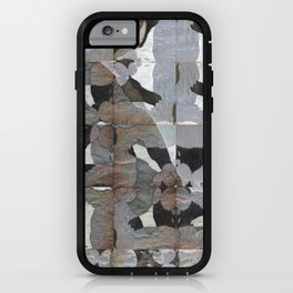 Rorschach Quilt iPhone Case