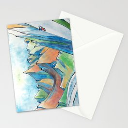 Push Yourself Stationery Cards