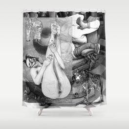 The constellation erotique 3305 Shower Curtain