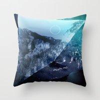 window Throw Pillows featuring Window by DM Davis