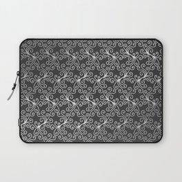 Virynne (Silver Grey) #patterns Laptop Sleeve