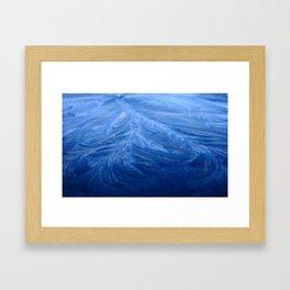 Cold as ice Framed Art Print