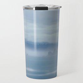 Foggy Coastline Travel Mug