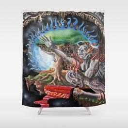 the origins Shower Curtain
