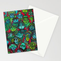 The Audience.  Stationery Cards