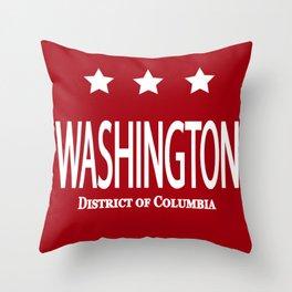 A Capital City Throw Pillow