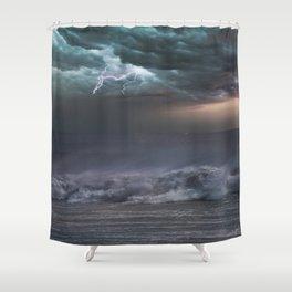 Sea Storm Shower Curtain