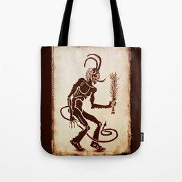 Krampus Is Coming Tote Bag