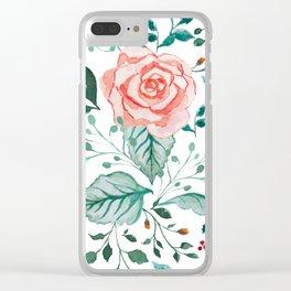 Rosé Clear iPhone Case