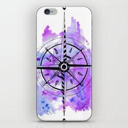 Art - Compass iPhone Skin