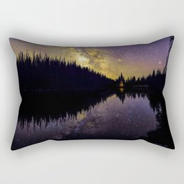 Campfire Under the Stars by OLena Art Rectangular Pillow