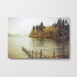 Lakeside Sojourn Metal Print