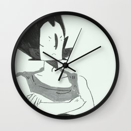 Vegeta Wall Clock