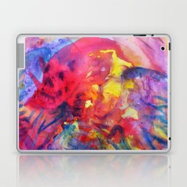 psychedelic angel corpes Laptop & iPad Skin