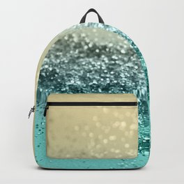 Lemon Twist Beach Glitter #2 #shiny #decor #art #society6 Backpack