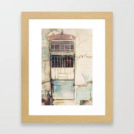 Porte du Etterbeek Gare Framed Art Print