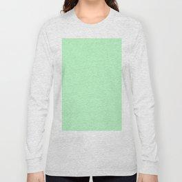 Light Green Long Sleeve T-shirt
