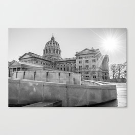 A Capital Afternoon Canvas Print