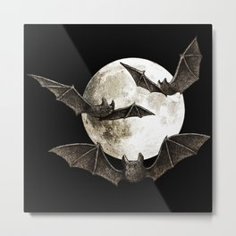 Creatures Of The Night Metal Print