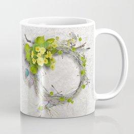Yellow flowers wreath Coffee Mug