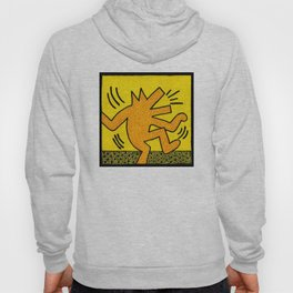 Keith Haring Dancing Dog Hoody