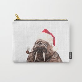 Christmas Daddy Walrus Carry-All Pouch