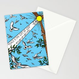 Peace is the Gift of God Stationery Cards