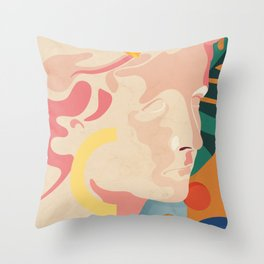 Greek obsession - Golden moments No.1. Throw Pillow